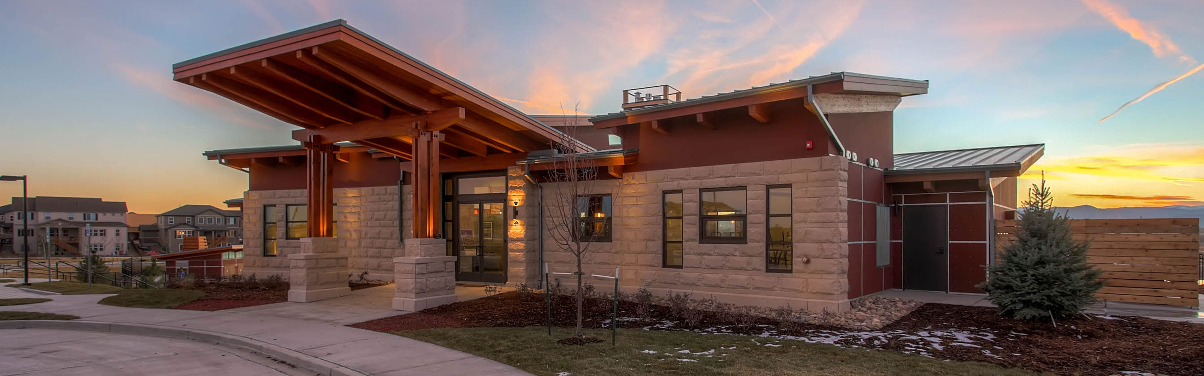 Colorado Architects that specialize in Club House Architecture