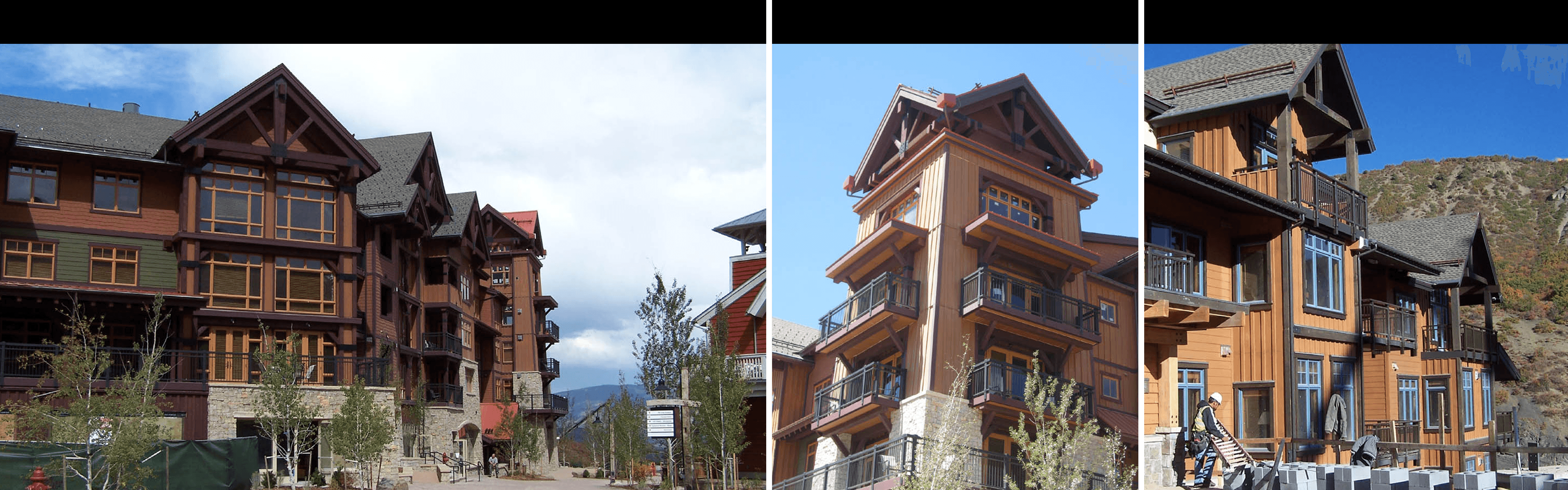 Stowe Mountain Lodge architecture solution provided from an architecture firm located in Colorado
