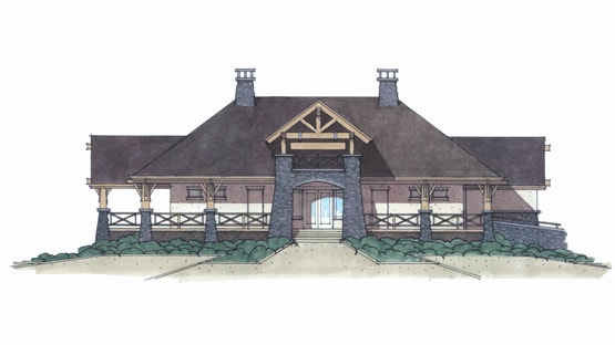 Cobblestone Club House Elevations
